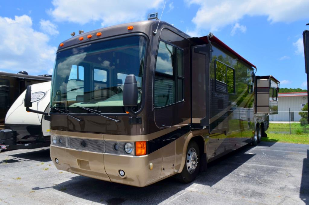 Used 2002 Monaco Signature Series Diesel Pusher Class A Motor Home For Sale 0082