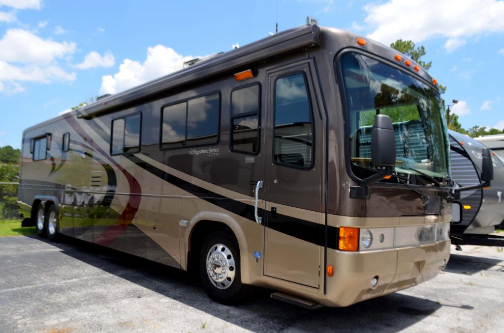 Used 2002 Monaco Signature Series Diesel Pusher Class A Motor Home For Sale 0083