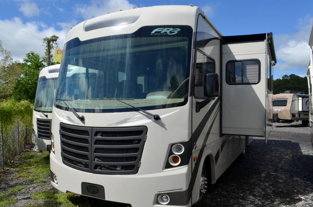 Used 2016 Forest River FR3 28DS Class A Motor Home For Sale 0124
