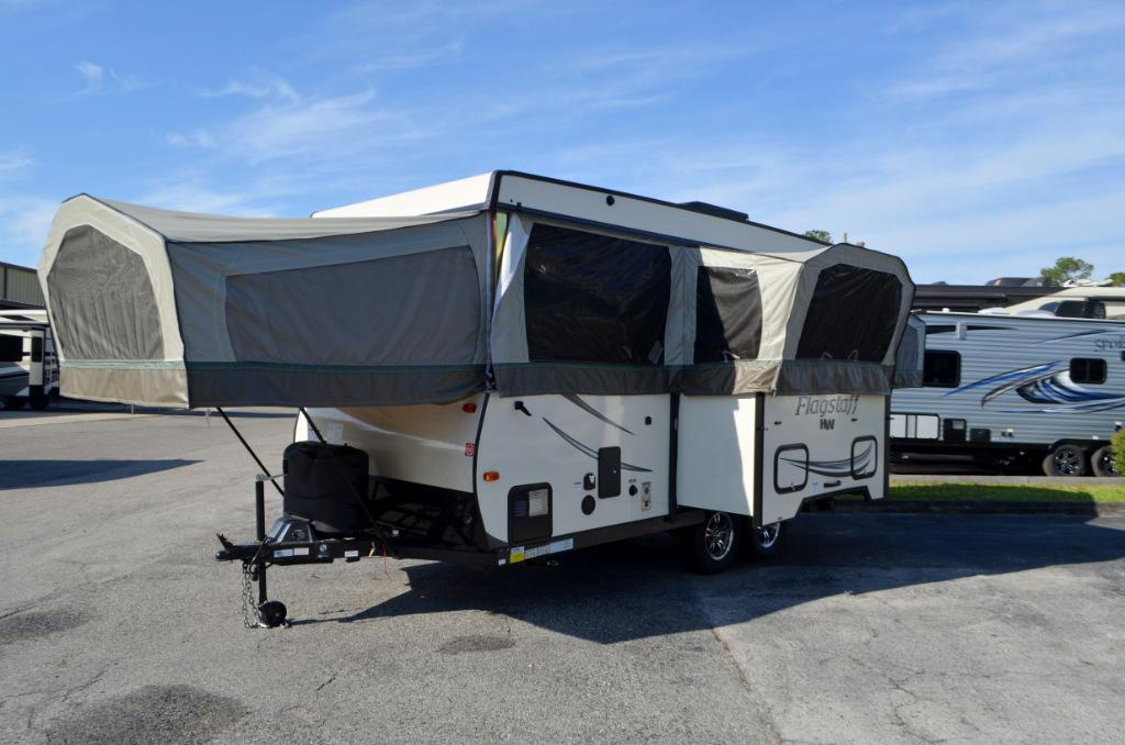 New 2017 Forest River Flagstaff HW HW29SC Pop Up Camping Trailer For Sale 0034