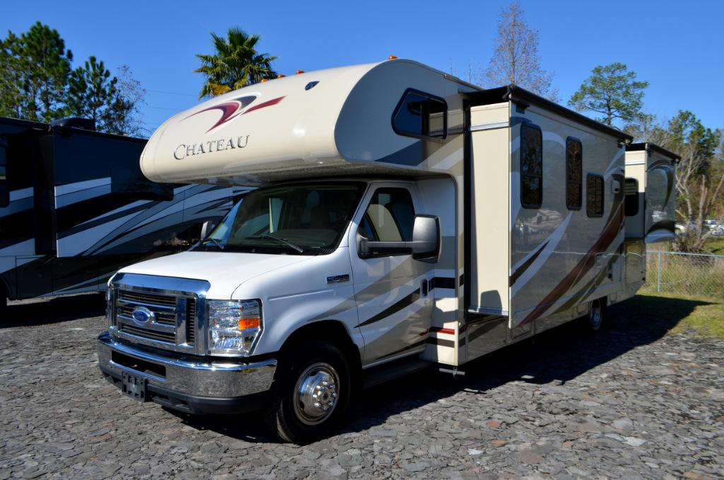 Used 2015 Forest River Chateau 29G Class C Motor Home For Sale 0030