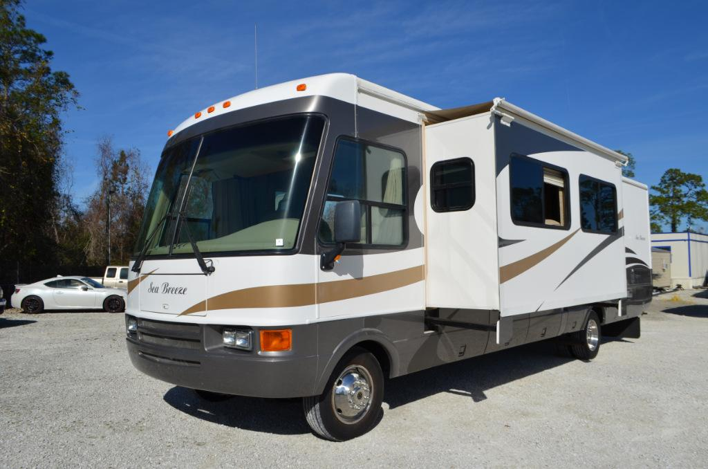 Used 2006 National Sea Breeze 1350 Class A Motor Home For Sale 0068