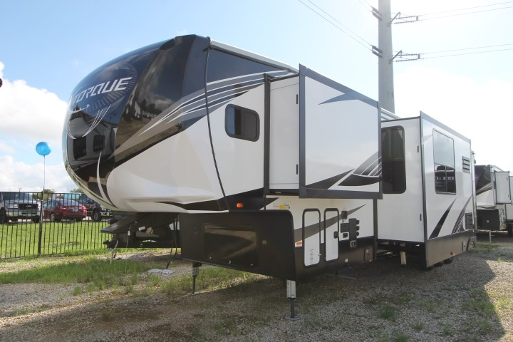 New 2019 land Torque TQ 416 Toy Hauler Fifth Wheel Mobile Home Axle Kes on