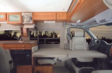 Fretz RV | Class B Motorhomes | Class B | Van Campers | Roadtrek
