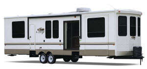cedar creek destination trailer