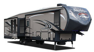 forest river sandpiper, sandpiper rvs, sandpiper fifth wheels
