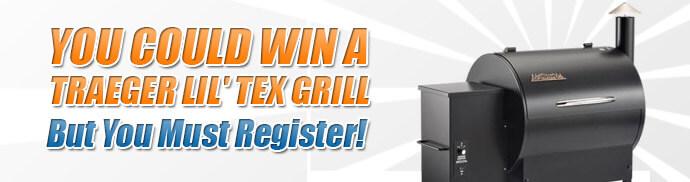 Win A Traeger Lil' Tex Grill