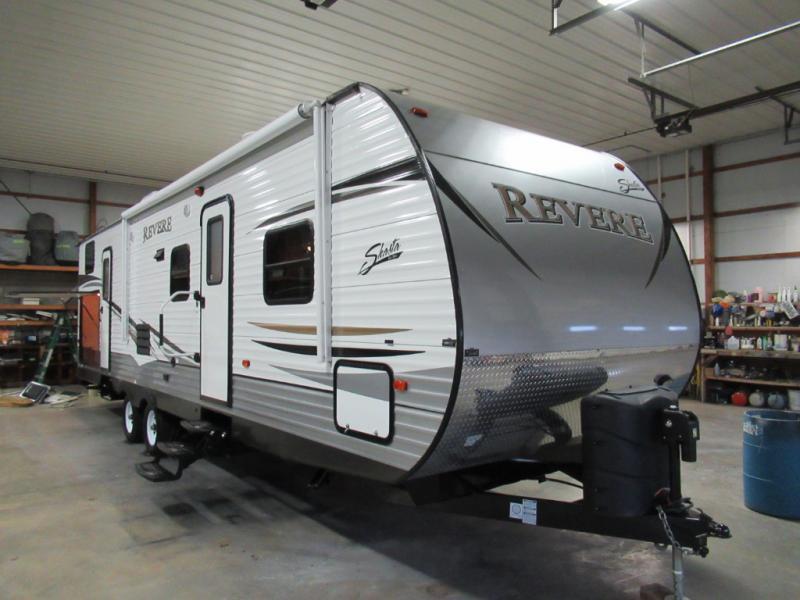 Used 2015 Shasta RVs Revere 32DS Travel Trailer at Gayle Kline RV