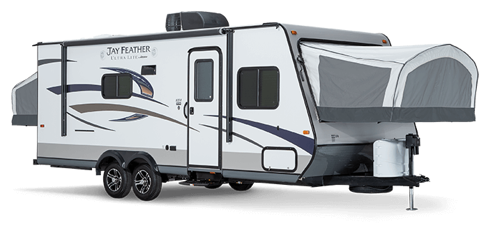 Jay Feather Ultra-light Expandable Travel Trailer