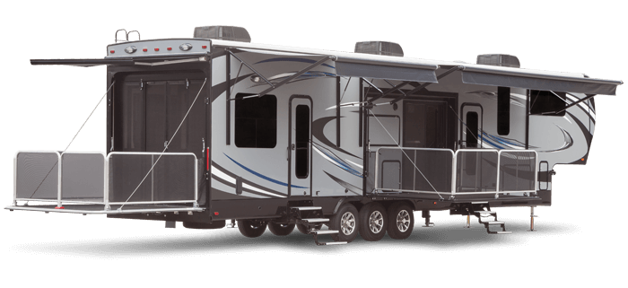 Seismic Toy Hauler Fifth Wheel on