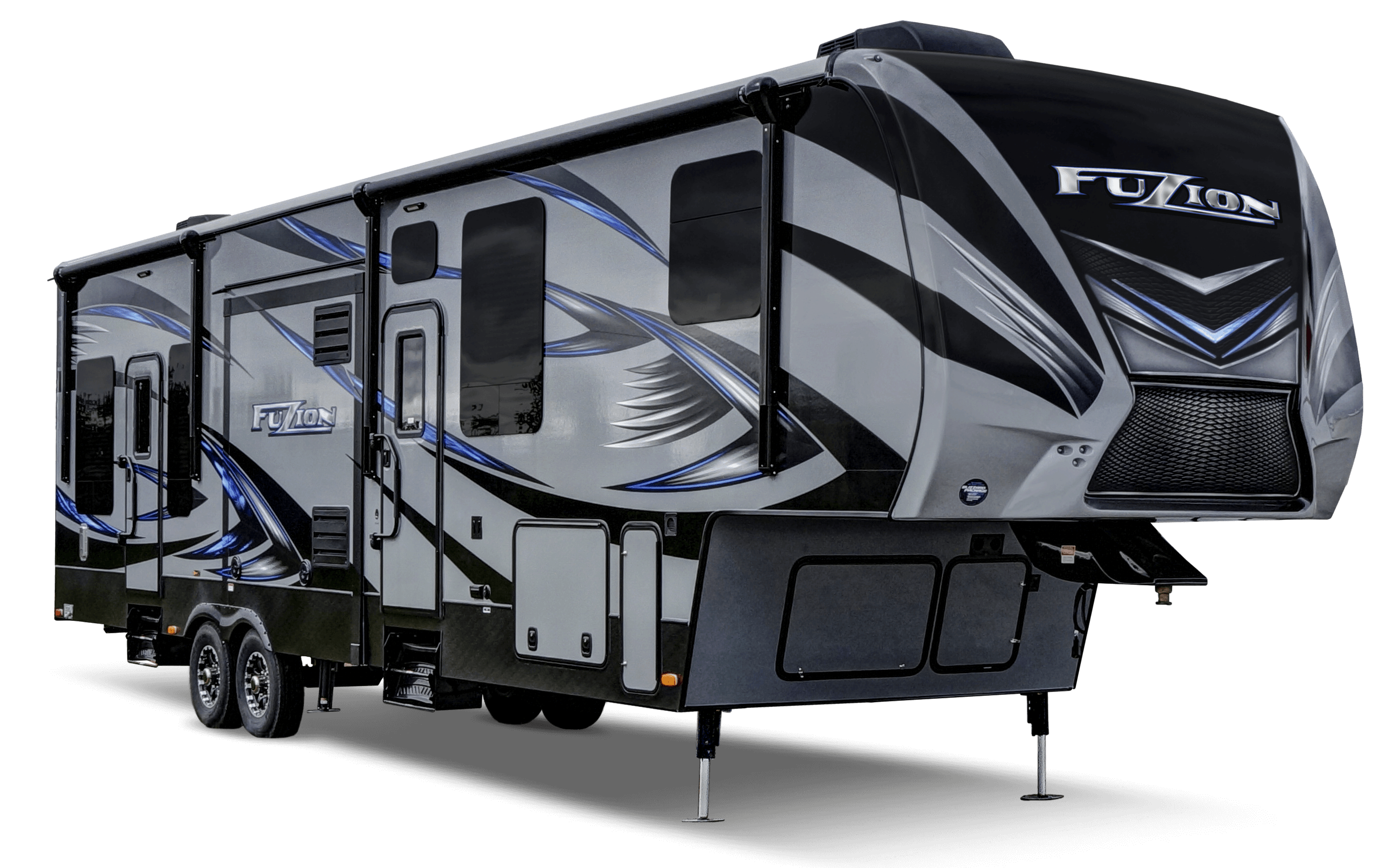 Keystone Fuzion Toy Hauler Fifth Wheel