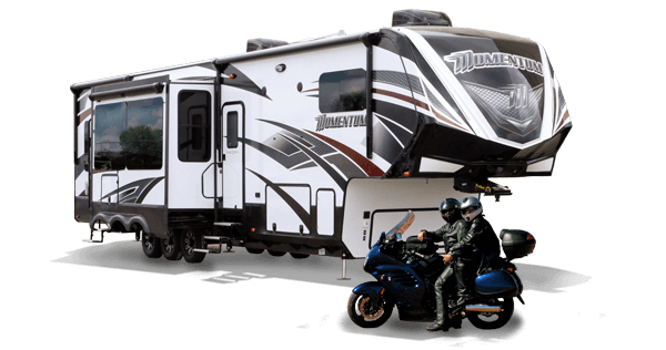 Grand Design Momentum Toy Hauler Fifth Wheel