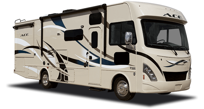 Ace class a motorhome for Motor homes to rent