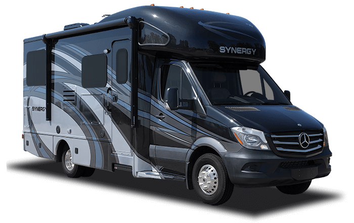 Synergy class c diesel motorhome general rv for Class a rv height