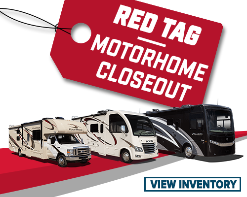 Red Tag Motorhome Closeout