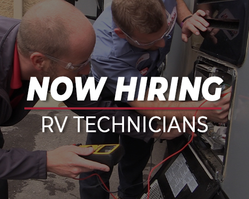Hiring Experienced RV Technicians