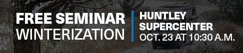 Huntley Winterization Seminar