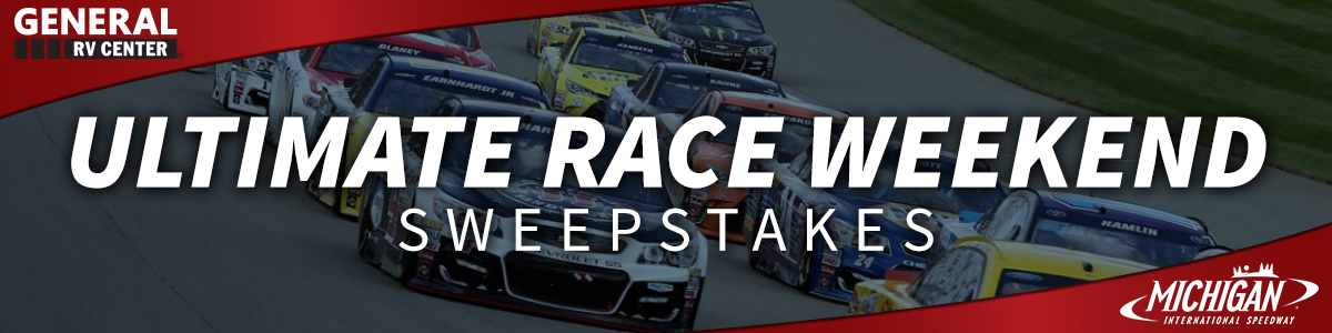 Ultimate Race Weekend Sweepstakes