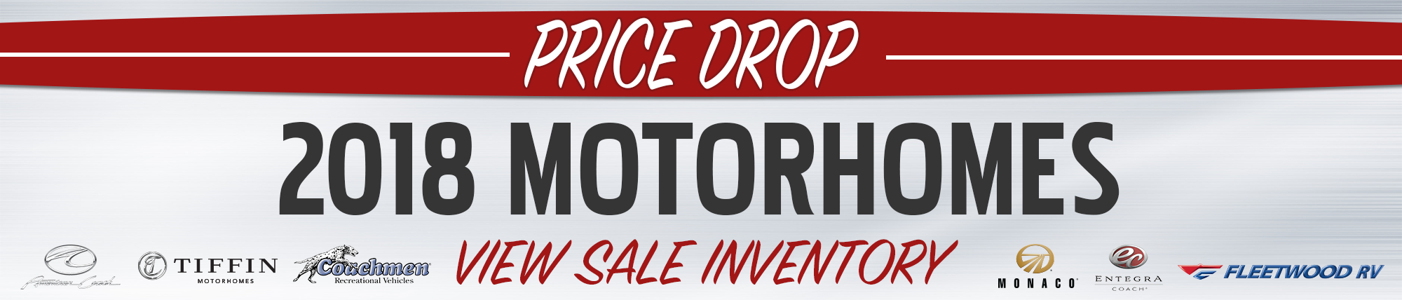 Motorhome Price Drop