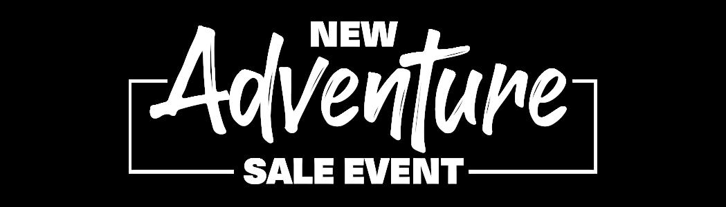 New Adventure Sale Event