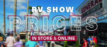 RV Show Prices
