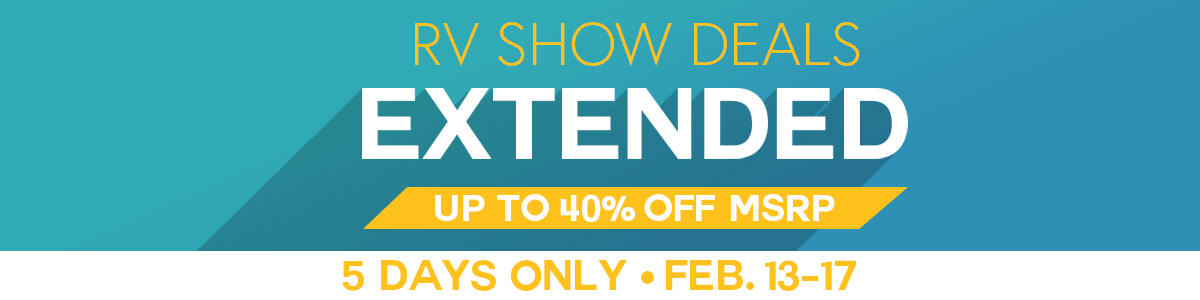 RV Show Deals Extended