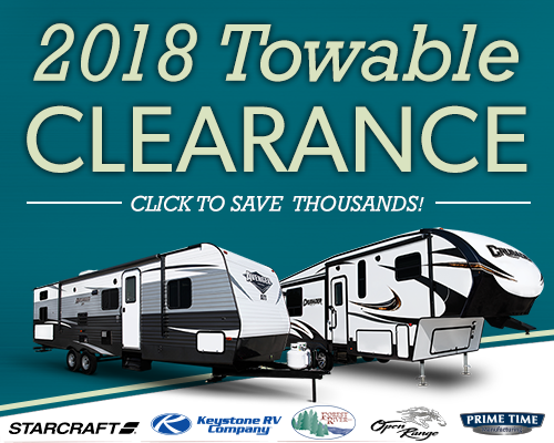 2018 Towable Clearance