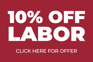 10% Off Labor Offer