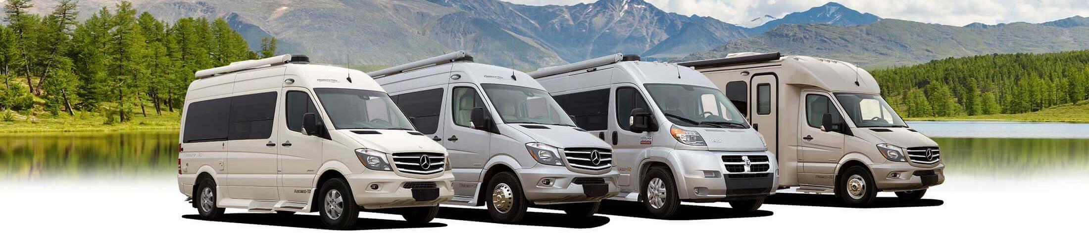 Camper Vans and Class B Motorhomes