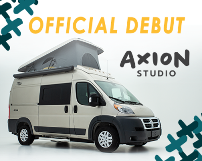 Hymer New Axion Studio Class B Van
