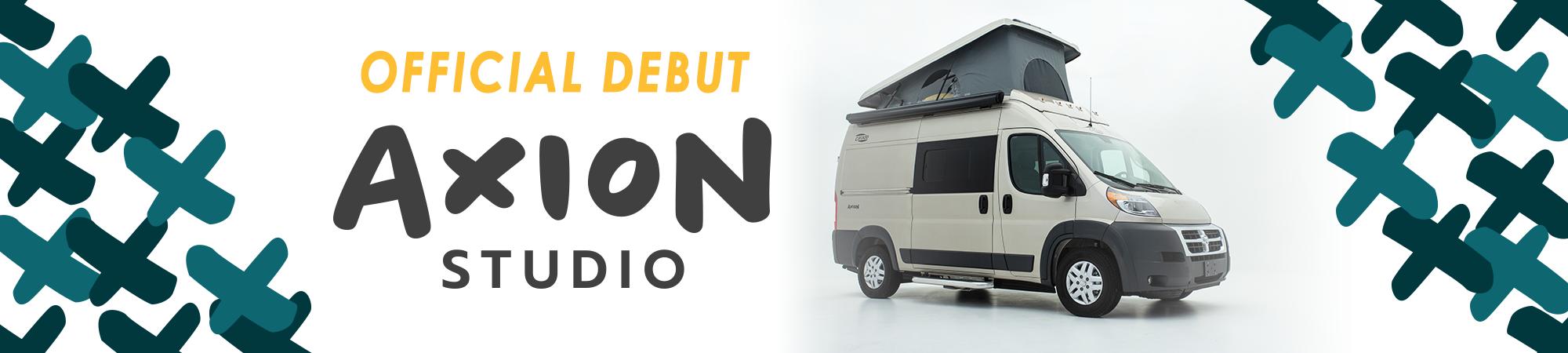Hymer Axion Studio B Van