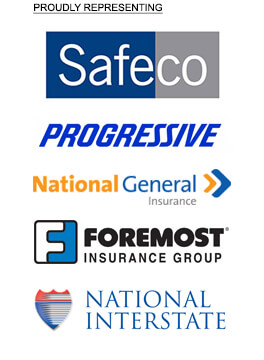 Foremost, Progressive, National Insterstate, National General Insurance