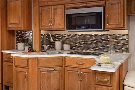 Entegra Insignia kitchen Opal