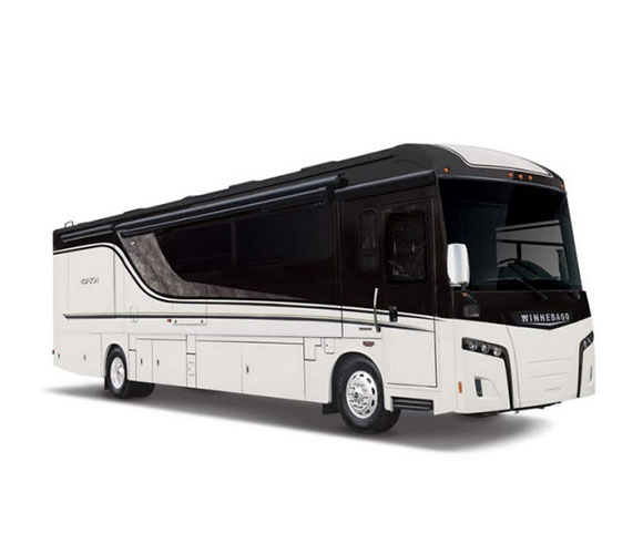 Winnebago Horizong luxury diesel class a motorhome exterior photo