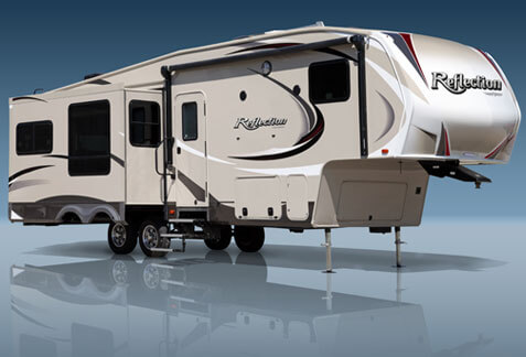An image of a Grand Design Fifth Wheel