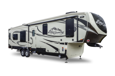 A heartland RV fifth wheel