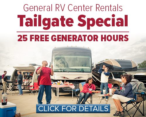 Rental Tailgate Special