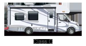 Class C Motorhome Rental