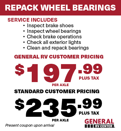 Wheel Bearing repack