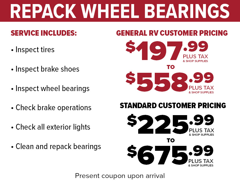 Wheel Bearing repack