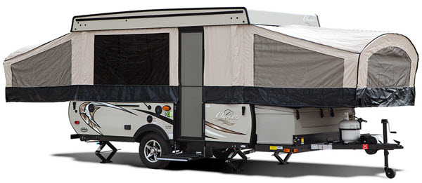Coachmen RV Clipper Camping Trailers Folding Pop-Up Camper