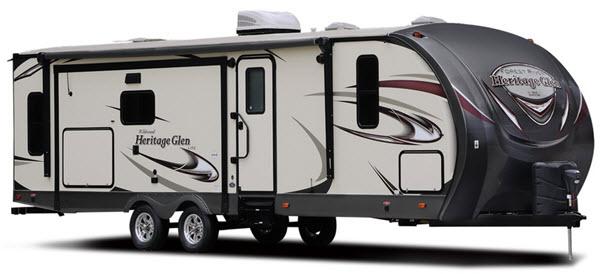 Forest River RV Wildwood Heritage Glen Travel Trailer