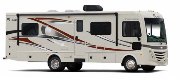 Outside - 2017 Flair 31E Motor Home Class A