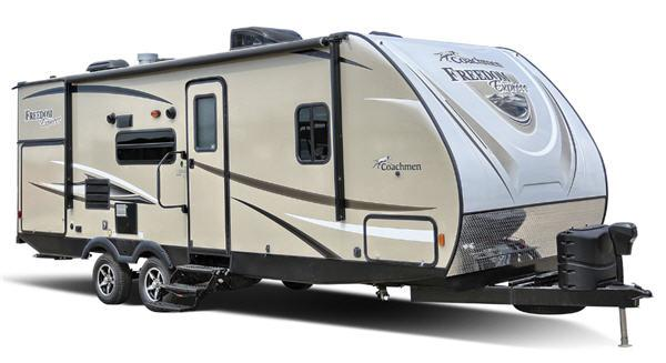 Outside - 2017 Freedom Express 298REDS Travel Trailer