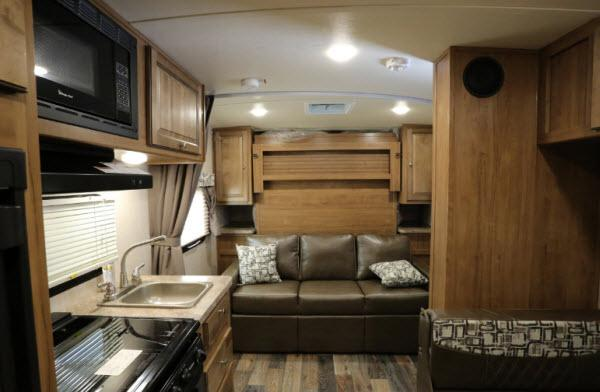 Inside - 2017 Rockwood Mini Lite 2104S Travel Trailer