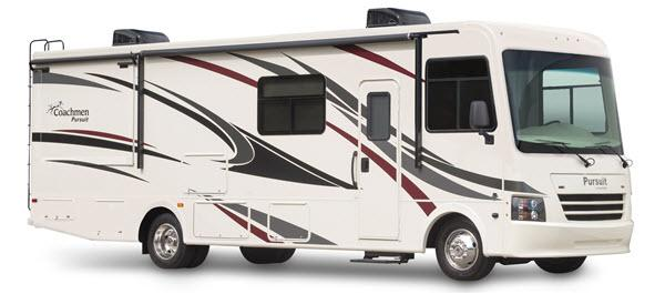 Outside - 2017 Pursuit 33 BH Motor Home Class A