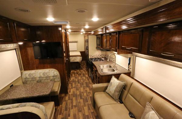 Inside - 2017 Pursuit 33 BH Motor Home Class A