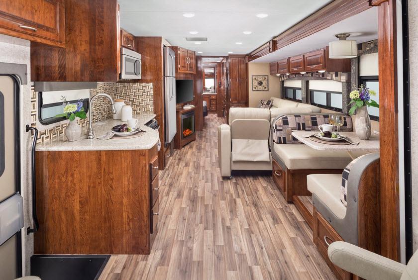 Inside - 2017 Mirada 35BH Motor Home Class A