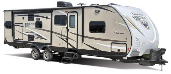 Outside - 2017 Freedom Express Liberty Edition 298REDS Travel Trailer