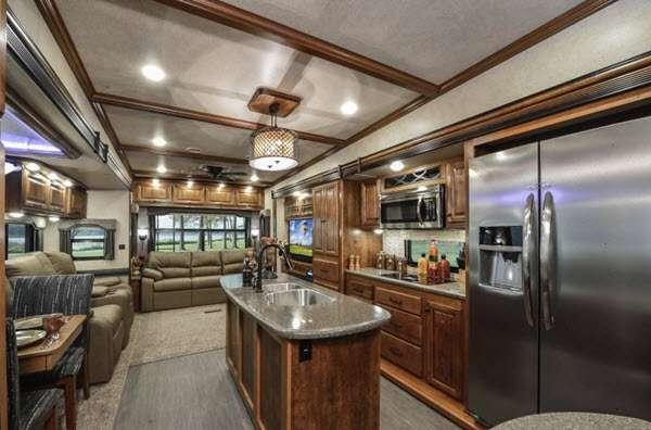 Inside - 2014 Big Country 3690 SL Fifth Wheel